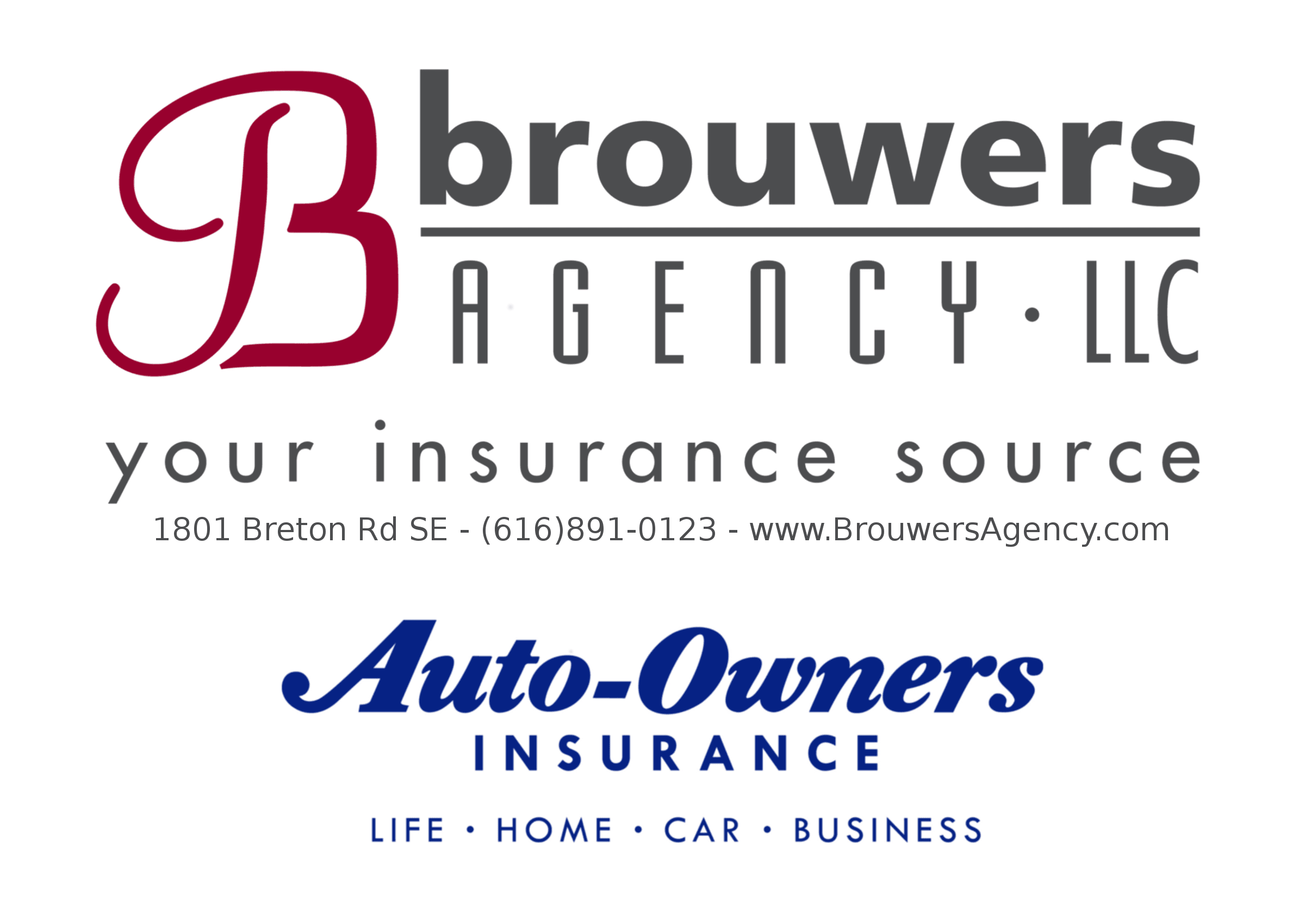 Brouswers Agency website